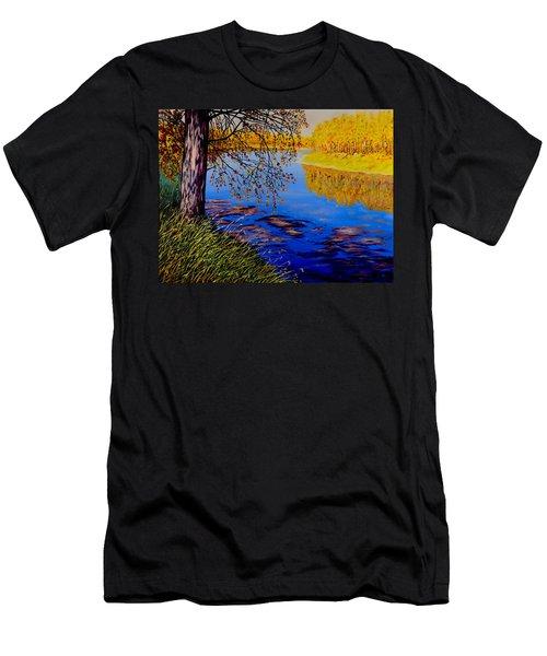 October Afternoon Men's T-Shirt (Slim Fit) by Sher Nasser