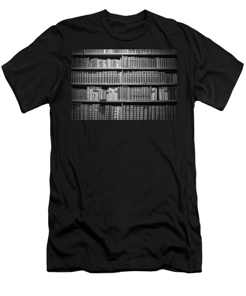 Old Books Men's T-Shirt (Slim Fit) by Chevy Fleet