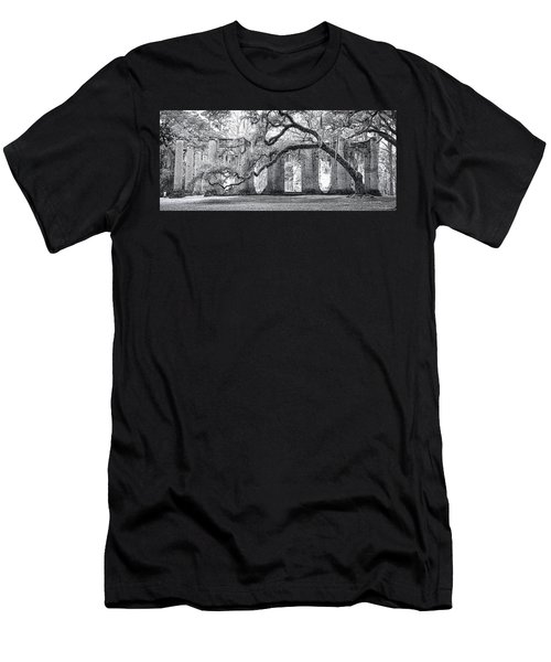 Old Sheldon Church - Side View Men's T-Shirt (Athletic Fit)