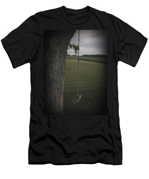 Men's T-Shirt (Slim Fit) featuring the photograph Once Upon A Time by Cynthia Lassiter