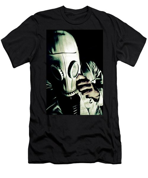 Oncoming Nuclear Mist Men's T-Shirt (Athletic Fit)