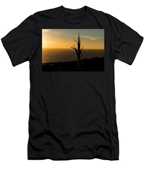 One At Sunset Men's T-Shirt (Athletic Fit)