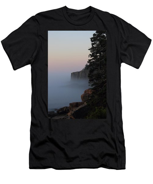 Otter Cliffs 2 Men's T-Shirt (Athletic Fit)