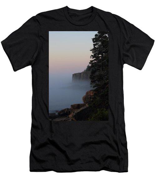 Otter Cliffs 2 Men's T-Shirt (Athletic Fit)
