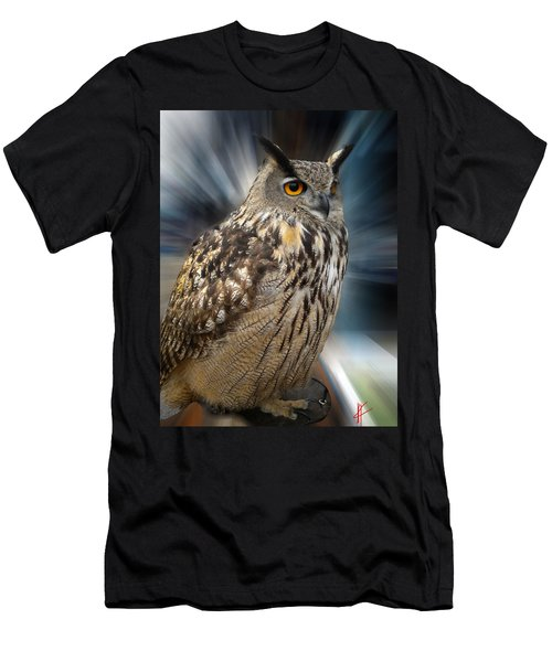Owl Alba Spain  Men's T-Shirt (Athletic Fit)