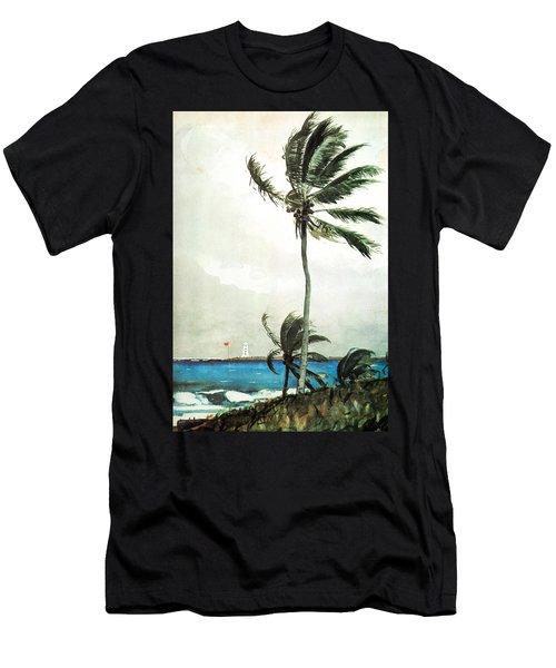 Palm Tree Nassau Men's T-Shirt (Athletic Fit)