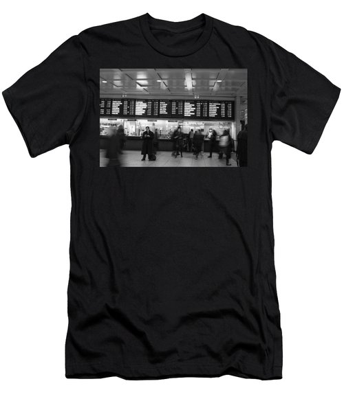 Penn Station Men's T-Shirt (Slim Fit) by Steven Macanka