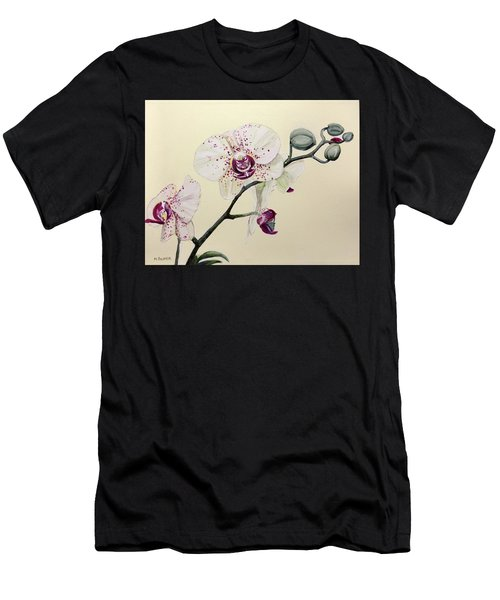 Phalaenopsis Black Panther Orchid Men's T-Shirt (Athletic Fit)