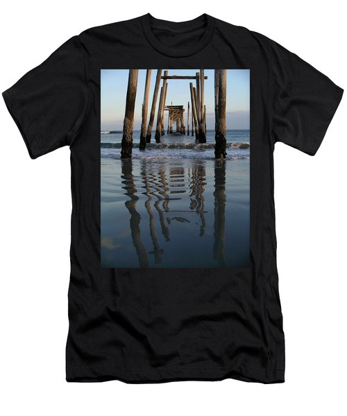 Pier Reflections Men's T-Shirt (Athletic Fit)