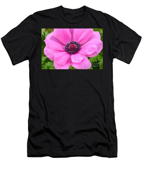 Men's T-Shirt (Slim Fit) featuring the photograph Pink Flower by Jeannie Rhode