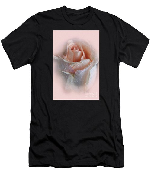 Pink Rose2 Men's T-Shirt (Athletic Fit)