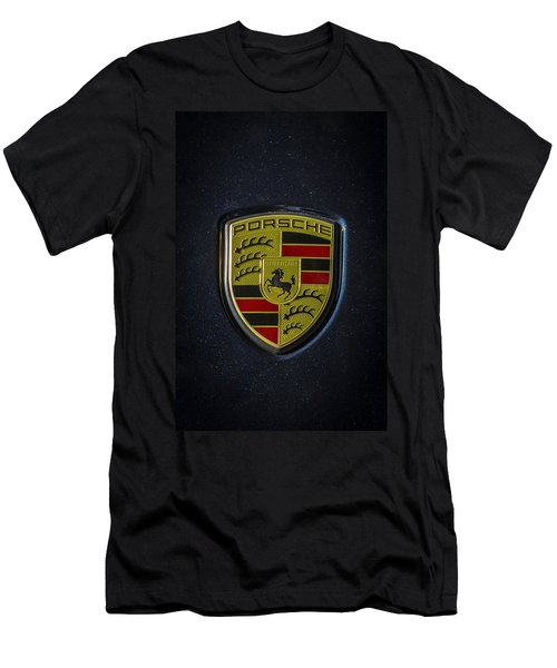 Porsche Logo Men's T-Shirt (Athletic Fit)