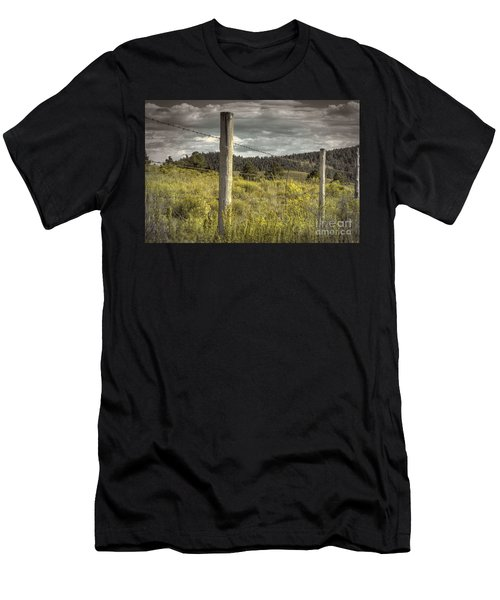 Prairie Fence Men's T-Shirt (Athletic Fit)