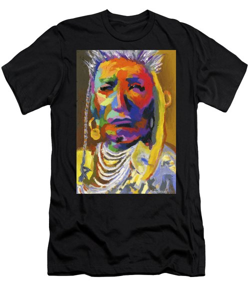 Proud Native American II Men's T-Shirt (Athletic Fit)