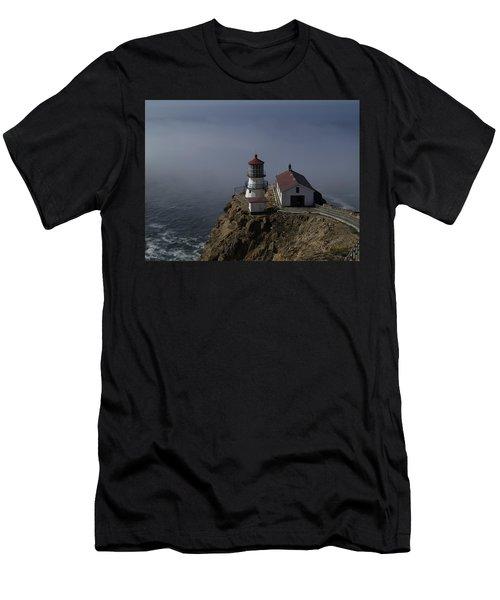 Pt Reyes Lighthouse Men's T-Shirt (Athletic Fit)