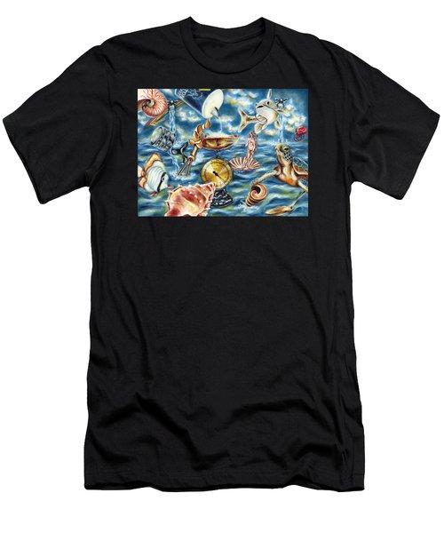 Recipe Of Ocean Men's T-Shirt (Athletic Fit)