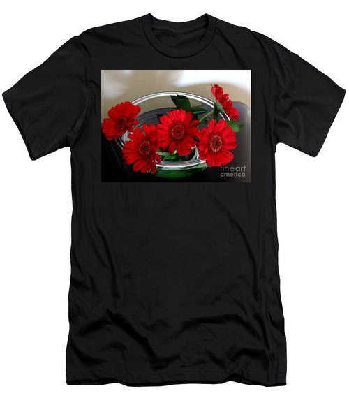Red Flowers. Special Men's T-Shirt (Athletic Fit)