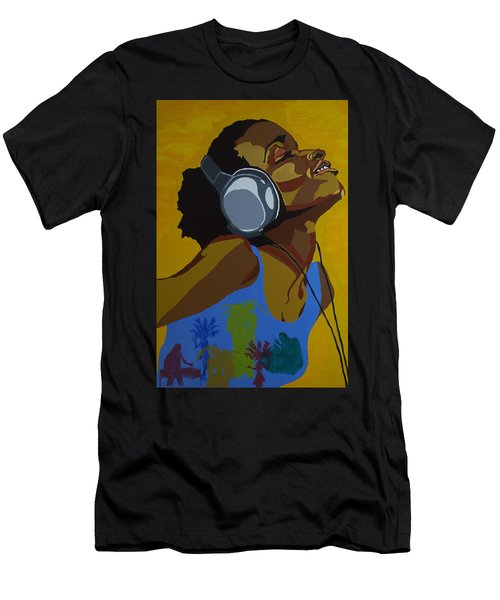 Rhythms In The Sun Men's T-Shirt (Athletic Fit)