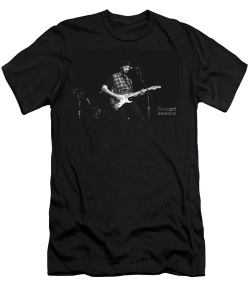 Musician Richard Thompson Men's T-Shirt (Athletic Fit)