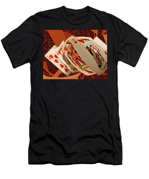 Royal Flush Men's T-Shirt (Athletic Fit)