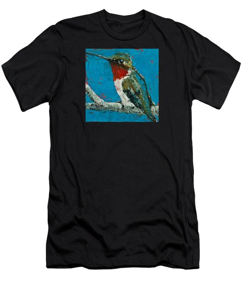 Ruby-throated Hummingbird Men's T-Shirt (Athletic Fit)