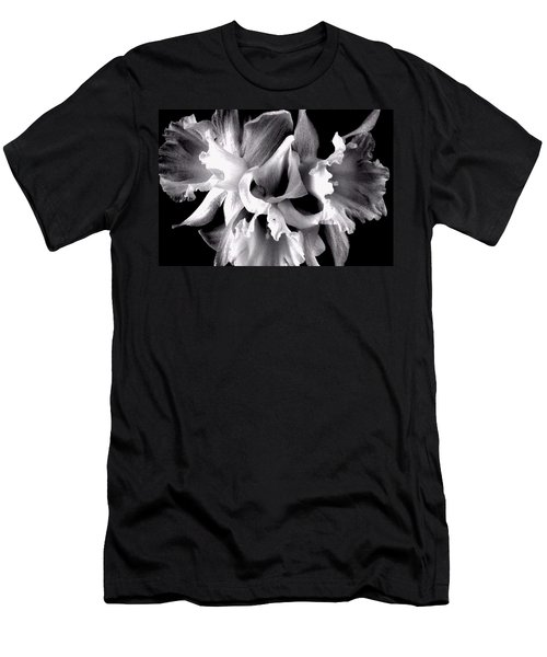 Ruffled Daffodils  Men's T-Shirt (Athletic Fit)