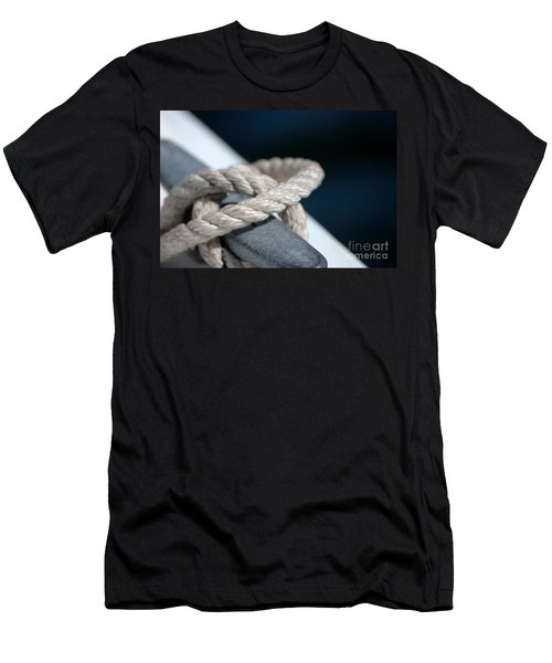 Men's T-Shirt (Athletic Fit) featuring the photograph Sail Away by Christiane Hellner-OBrien