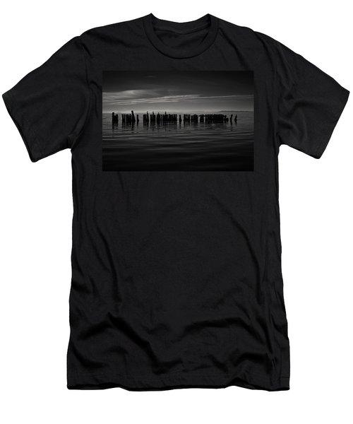 Salton Sea Piles Men's T-Shirt (Athletic Fit)