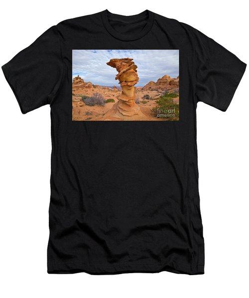 Sandstone Formation Vermillion Cliffs  Men's T-Shirt (Athletic Fit)