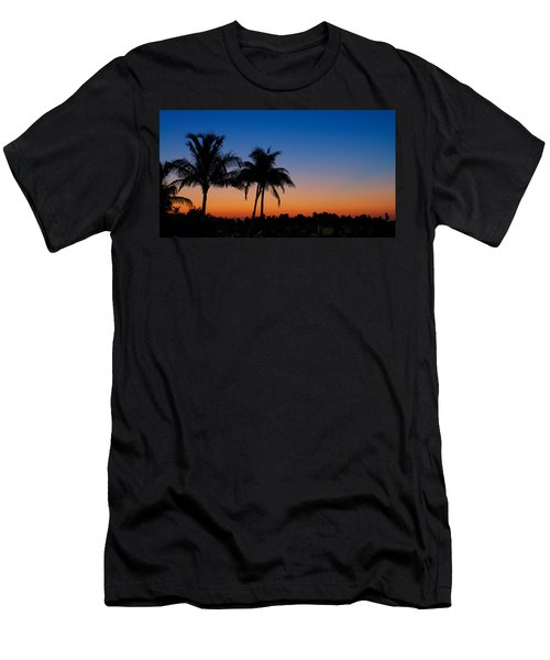 Sanibel Island Florida Sunset Men's T-Shirt (Athletic Fit)