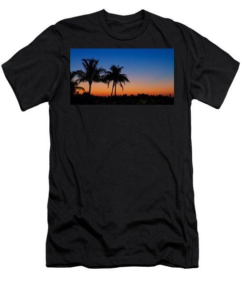 Sanibel Island Florida Sunset Men's T-Shirt (Athletic Fit)