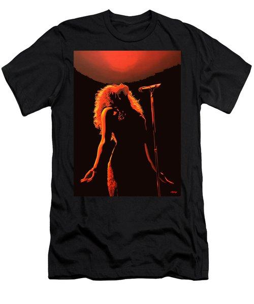 Shakira Men's T-Shirt (Slim Fit) by Paul Meijering