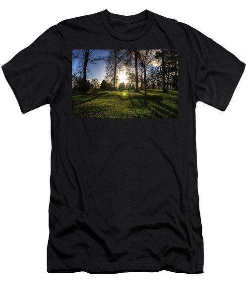 Short Days Long Shadows Men's T-Shirt (Athletic Fit)
