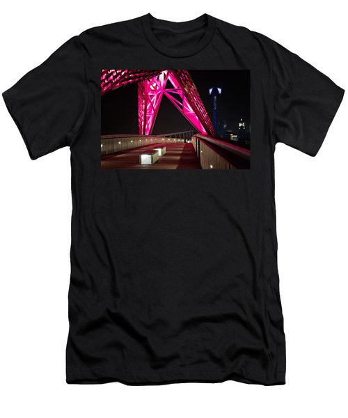 Men's T-Shirt (Slim Fit) featuring the photograph Skydance Walkway by Lana Trussell