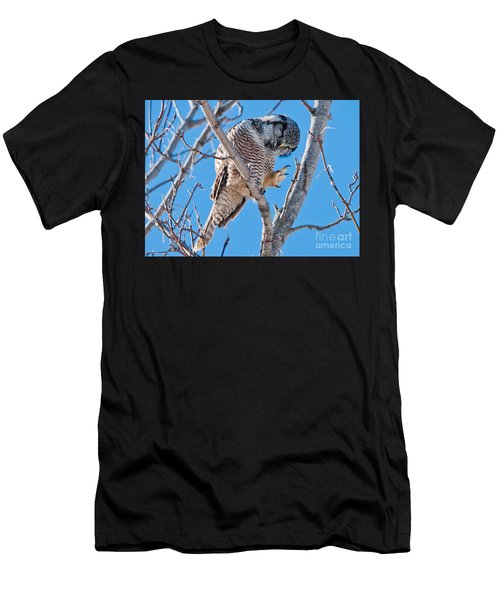 Smiling And Waving Men's T-Shirt (Athletic Fit)