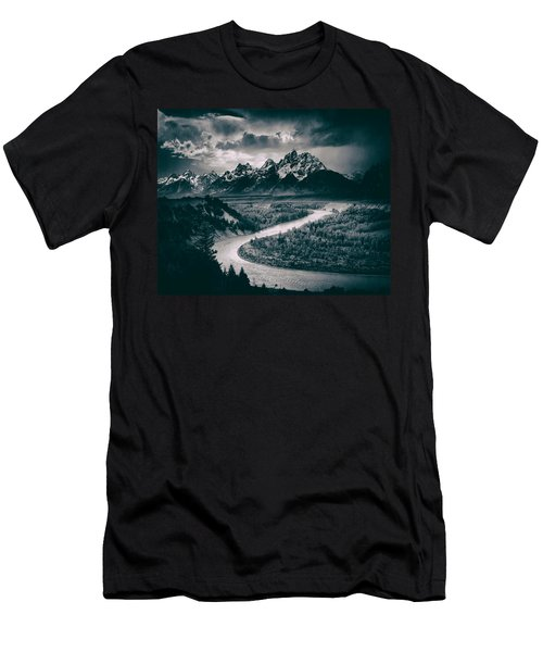 Snake River In The Tetons - 1930s Men's T-Shirt (Athletic Fit)