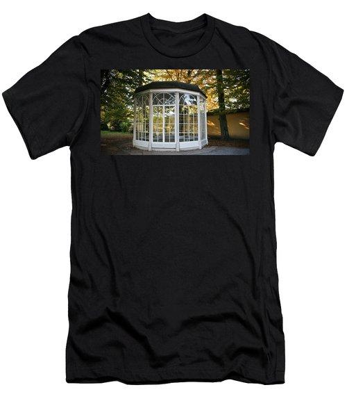 Sound Of Music Gazebo Men's T-Shirt (Slim Fit) by Silvia Bruno