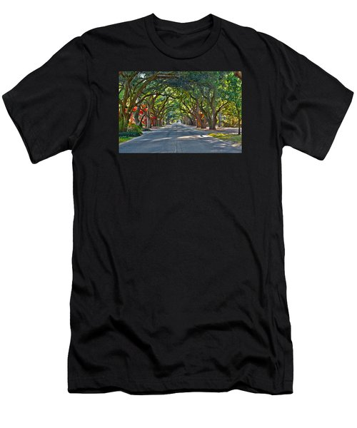 South Boundary Men's T-Shirt (Athletic Fit)