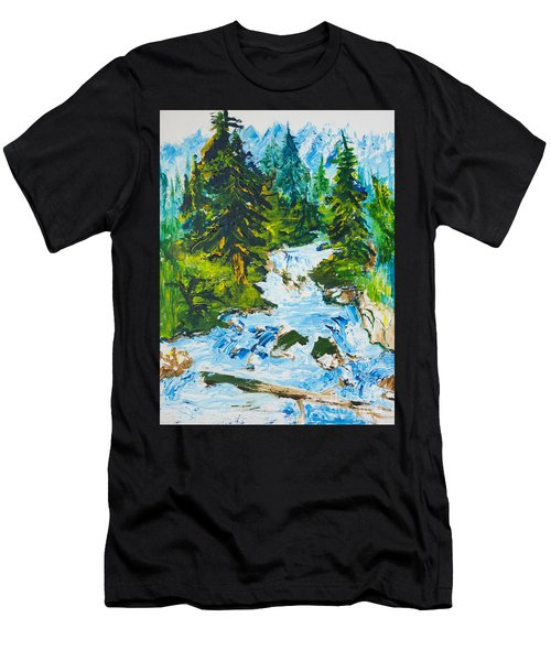 Spring Run-off Men's T-Shirt (Athletic Fit)