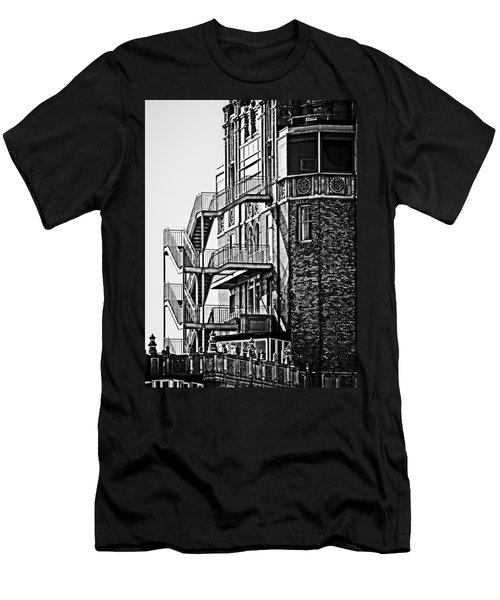 Stairs Men's T-Shirt (Slim Fit) by Mark Alder