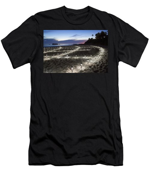 Stars On The Sand Men's T-Shirt (Athletic Fit)