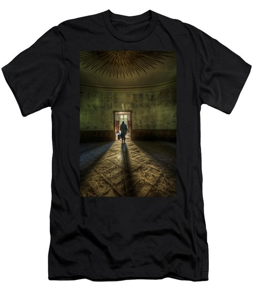 Step Into The Light Men's T-Shirt (Athletic Fit)