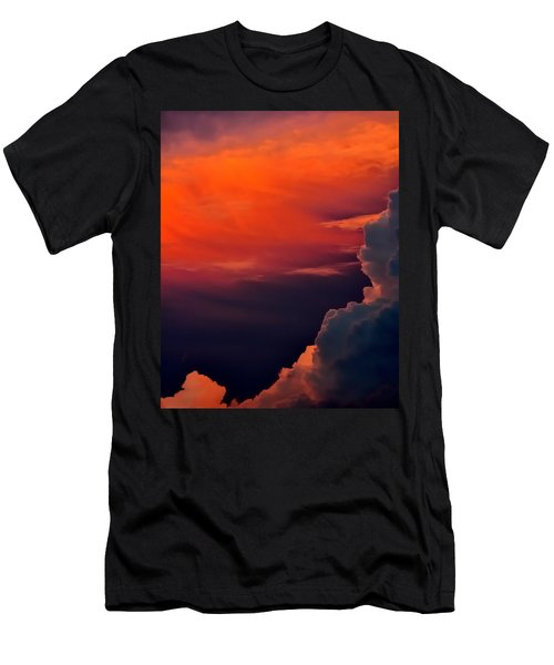 Storm Moving In 16101 Men's T-Shirt (Slim Fit) by Jerry Sodorff