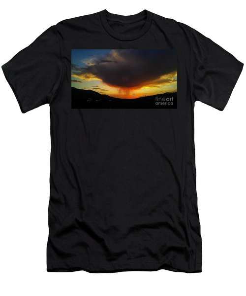 Men's T-Shirt (Slim Fit) featuring the photograph Storms Coming by Chris Tarpening