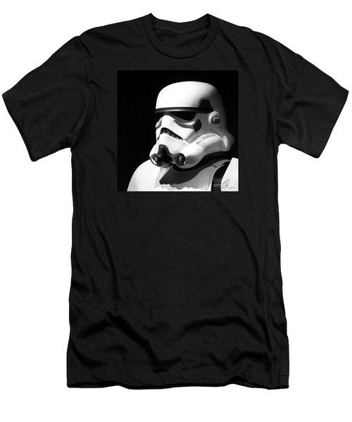 Stormtrooper Men's T-Shirt (Slim Fit) by Chris Thomas