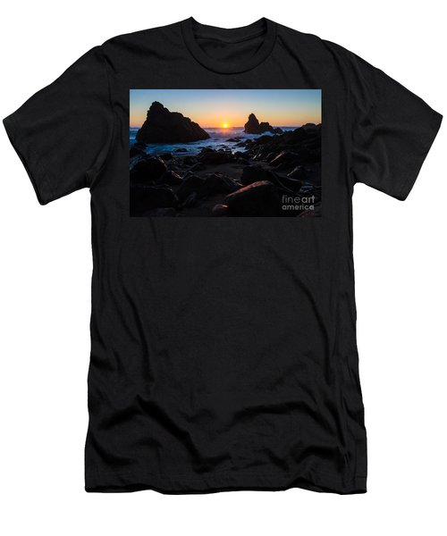 Sun Kissed Men's T-Shirt (Slim Fit) by CML Brown