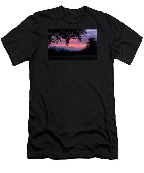 Sunset Men's T-Shirt (Slim Fit) by Kate Black