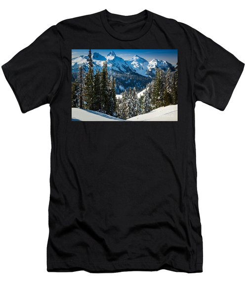 Tatoosh Winter Wonderland Men's T-Shirt (Athletic Fit)