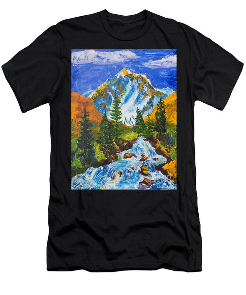 Taylor Canyon Run-off Men's T-Shirt (Athletic Fit)