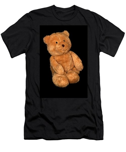 Teddy Bear  Men's T-Shirt (Athletic Fit)